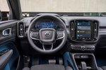 Volvo C40 Recharge 2022 interior dashboard