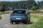 Volvo C40 Recharge 2022 rear cornering