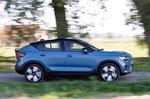 Volvo C40 Recharge 2022 right tracking