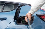 Volvo C40 Recharge 2022 charging point detail