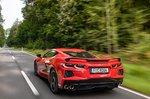 Chevrolet Corvette C8 Stingray 2021 rear tracking