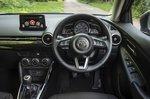Mazda 2 2022 interior dashboard