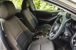 Mazda 2 2022 interior front seats