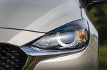 Mazda 2 2022 headlight detail
