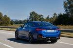 BMW I4 2021 rear 3/4 tracking