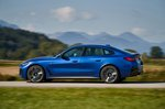 BMW I4 2021 left panning