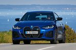 BMW I4 2021 front 3/4 tight tracking
