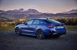 BMW I4 2021 rear 3/4 static
