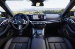 BMW I4 2021 LHD dashboard wide