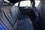BMW I4 2021 LHD rear seats