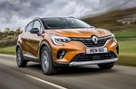 Renault Captur 2021 front right tracking