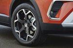 Vauxhall Crossland 2021 wheel detail