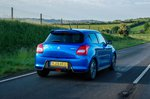 Suzuki Swift 2019 rear tracking shot