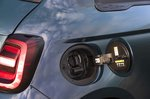 Fiat 500e 2021 charging socket