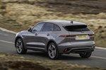 Jaguar F-Pace 2021 rear left tracking