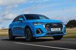 Q3 Sportback 2019 RHD front tracking
