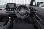Toyota C-HR 2018 RHD dashboard