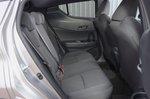 Toyota C-HR 2018 rear seats