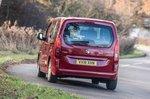 Vauxhall Combo Life 2018 rear cornering shot