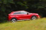 Mitsubishi Eclipse Cross 2019 side tracking shot