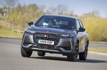 DS 3 Crossback 2019 UK front tracking shot