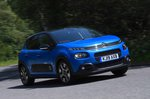 Citroen C3 2019 front right panning shots