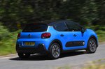 Citroen C3 2019 rear right panning shots