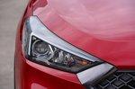 Hyundai Tucson N Line 2019 headlight detail