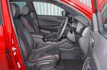 Hyundai Tucson N Line 2019 RHD front seats