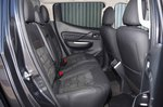 Mitsubishi L200 2021 RHD rear seats