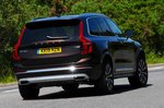 Volvo XC90 2021 front tracking
