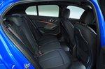 BMW 1 Series 2019 RHD rear seats