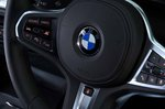 BMW 1 Series 2019 RHD steering wheel detail
