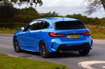 BMW 1 Series 2019 rear tracking