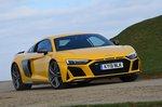 Audi R8 2019 cornering shot
