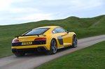Audi R8 2019 rear cornering