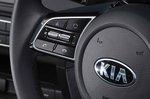 Kia Xceed 2019 RHD steering wheel detail