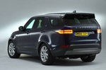 Land Rover Discovery 2019 rear quarter static studio