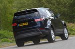 Land Rover Discovery 2019 RHD rear cornering shot