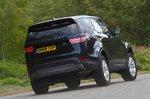 Land Rover Discovery 2019 RHD rear cornering shot