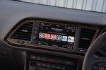 Seat Leon ST Cupra 2019 RHD infotainment