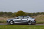 Volvo S60 2019 RHD side tracking shot