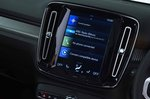 Volvo XC40 2019 RHD infotainment