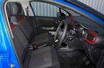 Citroen C3 2019 RHD front seats