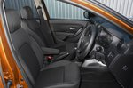 Dacia Duster 2021 front seats