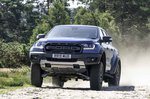 Ford Ranger Raptor 2019 RHD front tracking dirt