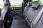 Ford Ranger Raptor 2019 RHD rear seats