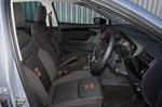 Seat Ibiza 2018 RHD front seats