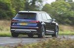 Audi SQ7 2019 rear tracking shot