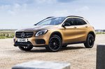 Mercedes-Benz GLA left front static